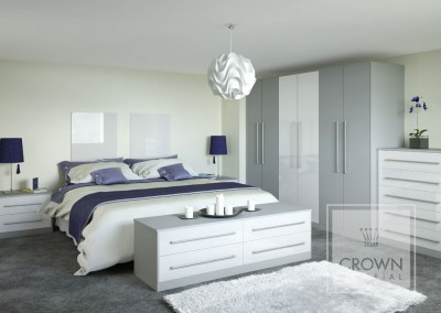 CROWN RIALTO MetallicWhite ZELUSO GreyLight