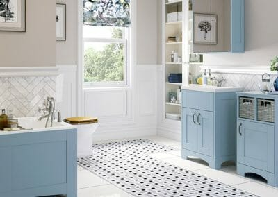 Mereway Bathrooms-Knightsbridge Sky-Blue-Matt
