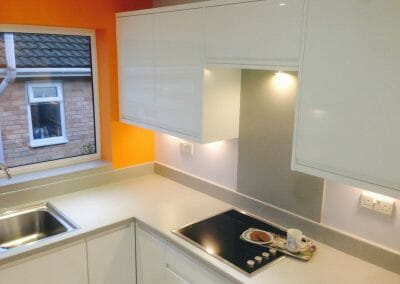 Laminate Worktop with Upstand