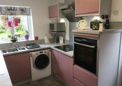 Mr & Mrs N, Kitchen in Seaton