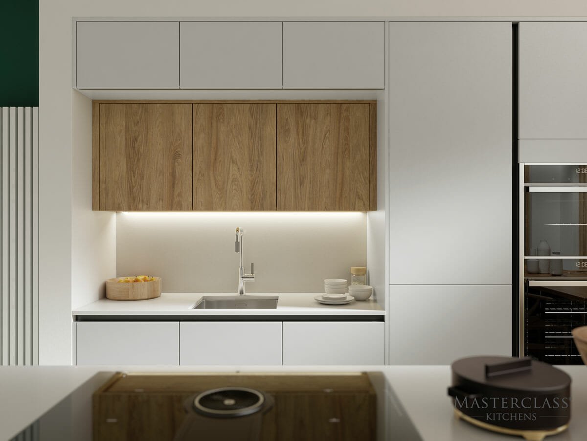 Sleek Handleless Kitchens