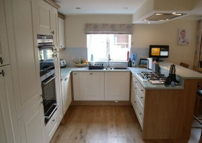 Mr & Mrs L, Kitchen in Sidmouth