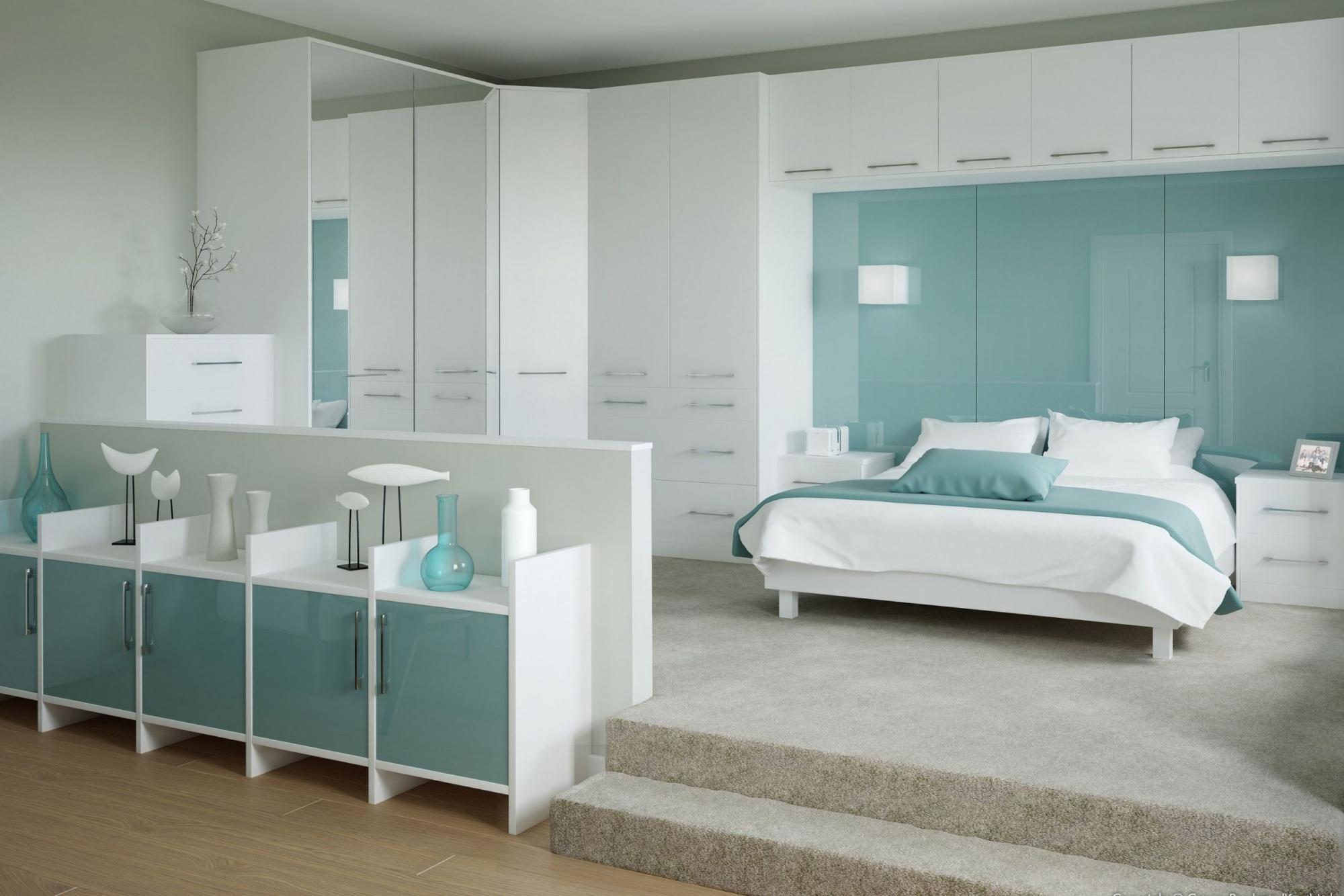 Light Aqua Bedroom