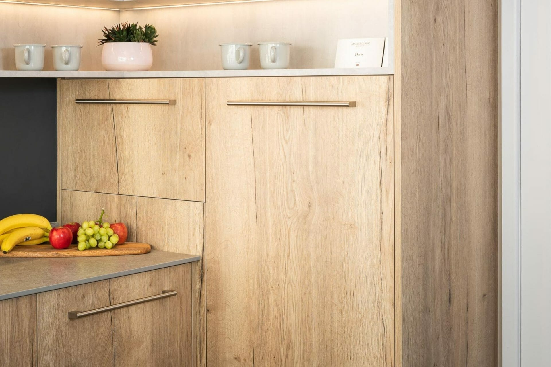 Wooden Kitchen Cupboards Devon