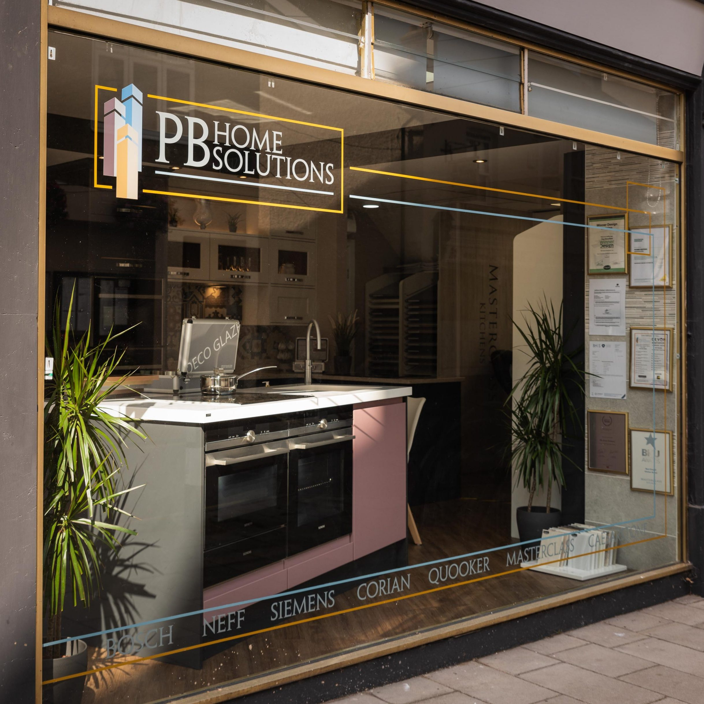 PB Home Solutions Showroom